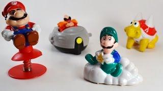Cajita Feliz McDonald's de  Super Mario Bros 3 Comercial de Tv 1990