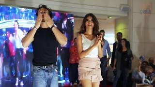 Tiger Shroff and Nidhhi Agarwal visits Oasis Mall
