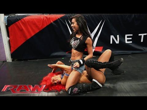 Xxx Mp4 AJ Lee Vs Eva Marie Raw Aug 11 2014 3gp Sex