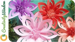 These DIY Paper Flowers are Easy to Make