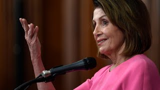 Pelosi holds weekly news conference