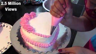 ❤ Anniversary Cake - Simple Heart Shape Cake, Cake Decoration by Geetika