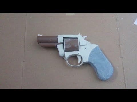 Revolver Bulldog Feito de Pvc (Tutorial completo)