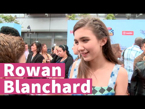 Rowan Blanchard Talks Filming