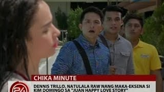 24 Oras: Dennis Trillo, natulala raw nang maka-eksena si Kim Domingo sa