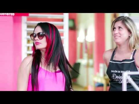 Publicidad de Mechas Rojas Salon de Belleza Pinar del Rio Dainelys Sectret