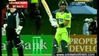 4th ODI Highlights New Zealand vs Pakistan Napier 2011 Part 7 HD