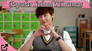 Top 25 Popular School Korean Dramas 2016 (All The Time)