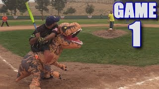 OPENING DAY HALLOWEEN SPECIAL! | Offseason Softball Series | Game 1