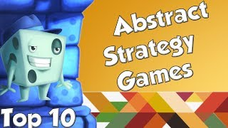 Top 10 Abstract Strategy Games - with Tom Vasel