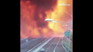 انفجار شاحنة صهريج قرب مطار بولونيا، إيطاليا|CCTV Arabic