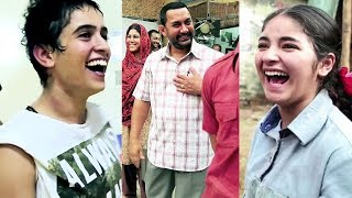 Aamir Khan, Fatima, Zaira And Other HAVE FUN On The Sets Of Dangal | Behind The Scenes Of Dangal