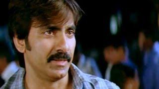 Anjaneyulu Movie    Ravi Teja & Raja Ravindra's Fight Scene