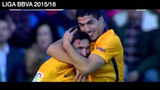 4 goles de Luis Suarez vs Deportivo La Coruña, Deportivo La Coruña 0 - 8 Barcelona, Liga BBVA 2016