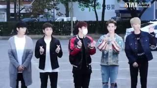 161014 NU'EST at KBS2TV Music Bank