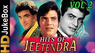 Hits of Jeetendra  Vol 2 | Superhit Evergreen Hindi Songs | Best Bollywood Songs Jukebox