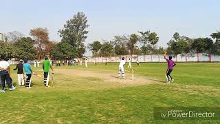 Cricket trial under 14 yr at nehru stadium ghazipur