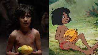 El Libro de la Selva: Antes y Después | Oh My Disney