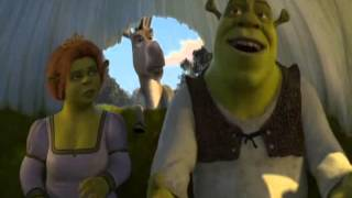 Escena Graciosa de ''Shrek 2''- Burro Aburrido (¿y