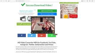Save videos with Online Video Converter - video-converter-mp4.com