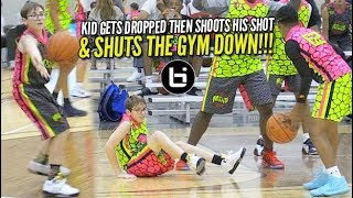 Basketball Saves a Life: Kid Gets DROPPED, Gets Up, Shoots His Shot & SHUTS THE GYM DOWN!!!