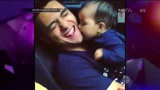 Ricky Harun Suka Mengunggah Video Lucu Sang Anak ke Instagram