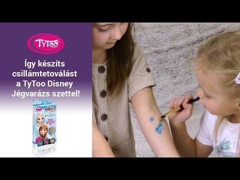 Így készíts csillámtetoválást a TyToo Disney Jégvarázs szettel!