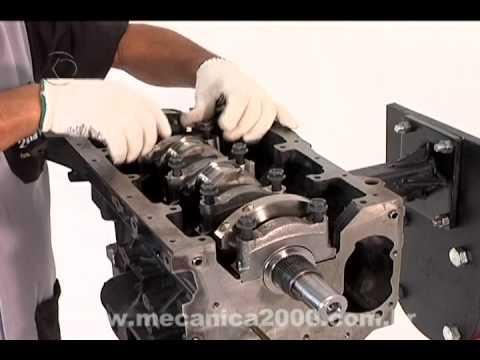 DEMO M2000 L200 Montagem do bloco motor