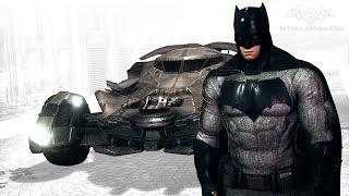 Batman: Arkham Knight - Batman v Superman Batmobile & Skin Pack (Free Roam Gameplay)