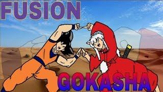 Goku e Inuyasha Fusion-