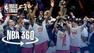 NBA 360 | Toronto Raptors Championship Celebration