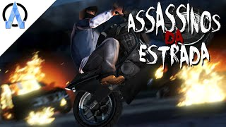 GTA V Online PS4 - Assassinos da Estrada #8 - Sobrevivendo ao Nosso Comando, Virei a Caça !
