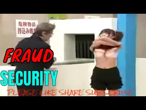 Funny Security Prank in Airport BAKCHOD Security Guard Prank full body Checking Of Girl boobs press