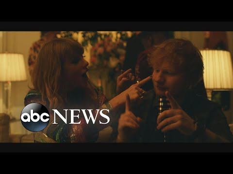 Exclusive 1st look at Taylor Swift's new video 'End Game' with Future and Ed Sheeran