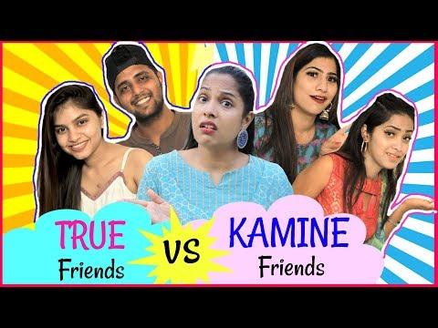 TRUE Friends vs KAMINE Friends Fun Sketch RolePlay Anaysa ShrutiArjunAnand