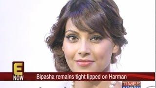 Bipasha Basu tightlipped on Harman Baweja