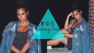 MY GO-TO MAKEUP♡ NAZANIN KAVARI