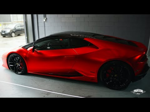 Xxx Mp4 LAMBORGHINI HURACÁN Wrapped SATIN CHROME RED 3gp Sex