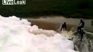 LiveLeak - Waterfall Accident in India