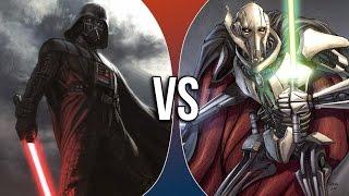 VS Rounds | Darth Vader vs General Grievous