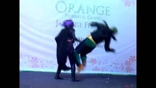 Kick-Ass VS Hit-Girl Cosplay Performance (Stage Combat)