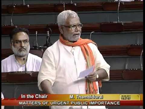 Matters of Urgent Public Importance: Sh. Hukmdev Narayan Yadav: 26.08.2011