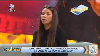 """FanArena (25.10) - Giani Kirita prin ochii Roxanei Vancea : """"Giani a fost mai mult decat misogin!"""""""