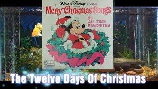 The Twelve Days Of Christmas = Merry Christmas Songs = Walt Disney