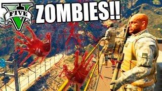 GTA V PC MOD LA MEJOR BASE DE SUPERVIVENCIA ZOMBIES DEL MUNDO !!