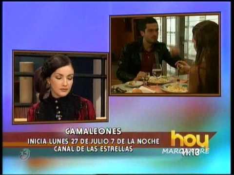 Karla Alvarez como Agatha de Camaleones en Hoy