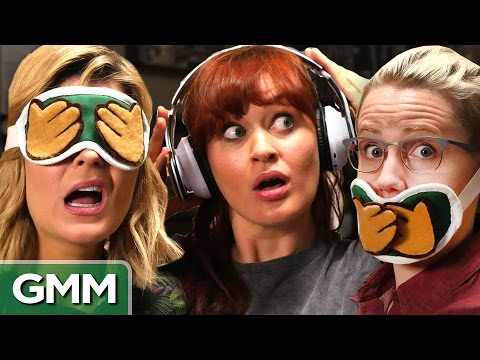 3 Monkeys Challenge ft Grace Helbig Mamrie Hart and Hannah Hart