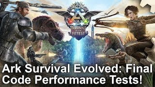 Ark: Survival Evolved - PS4/ Pro/ Xbox One Final Game Frame-Rate Test!