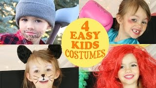 4 Cute & Easy Costume Ideas For Kids