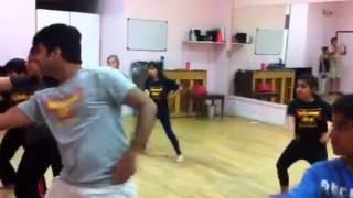 Trisha's dance practice March19 2